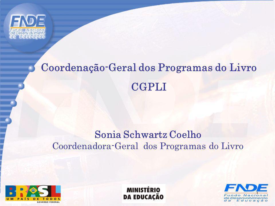 Coordenação-Geral dos Programas do Livro CGPLI
