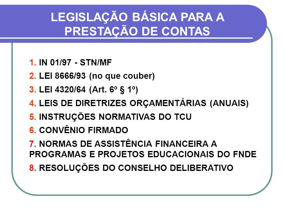 LEGISLAÇÃO BÁSICA PARA A