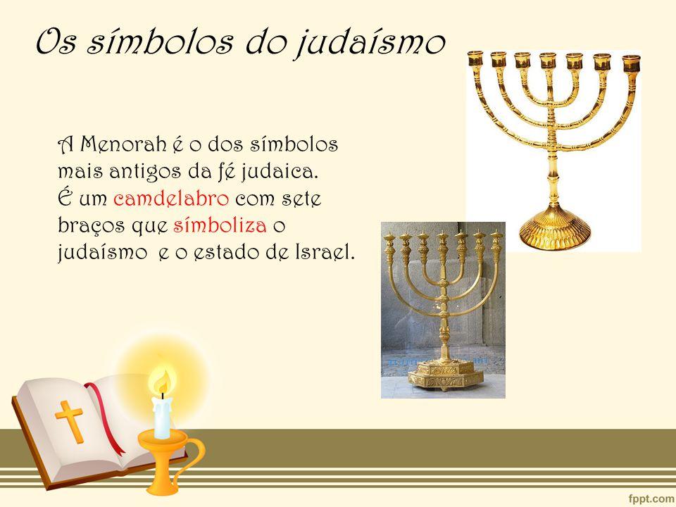 Os símbolos do judaísmo