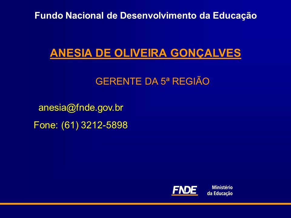ANESIA DE OLIVEIRA GONÇALVES