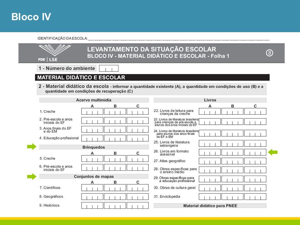 Bloco IV