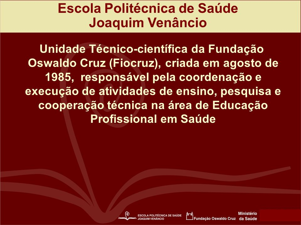 Escola Politécnica de Saúde
