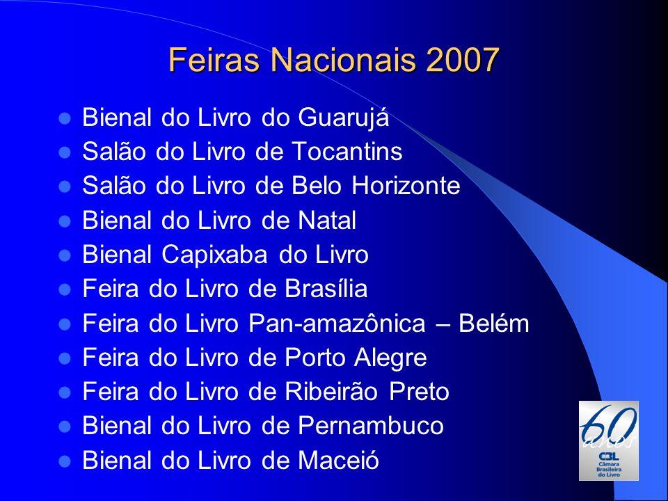 Feiras Nacionais 2007 Bienal do Livro do Guarujá