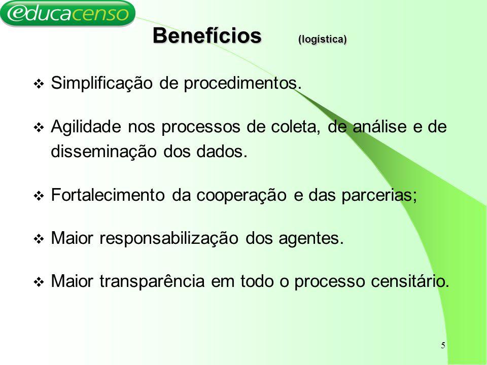 Benefícios (logística)