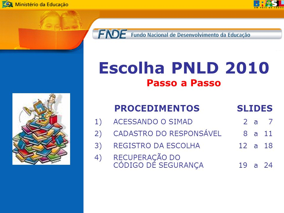 Escolha PNLD 2010 Passo a Passo