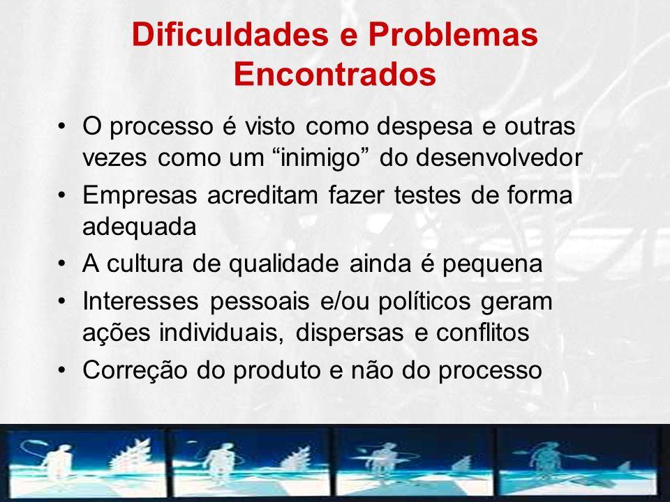 Dificuldades e Problemas Encontrados