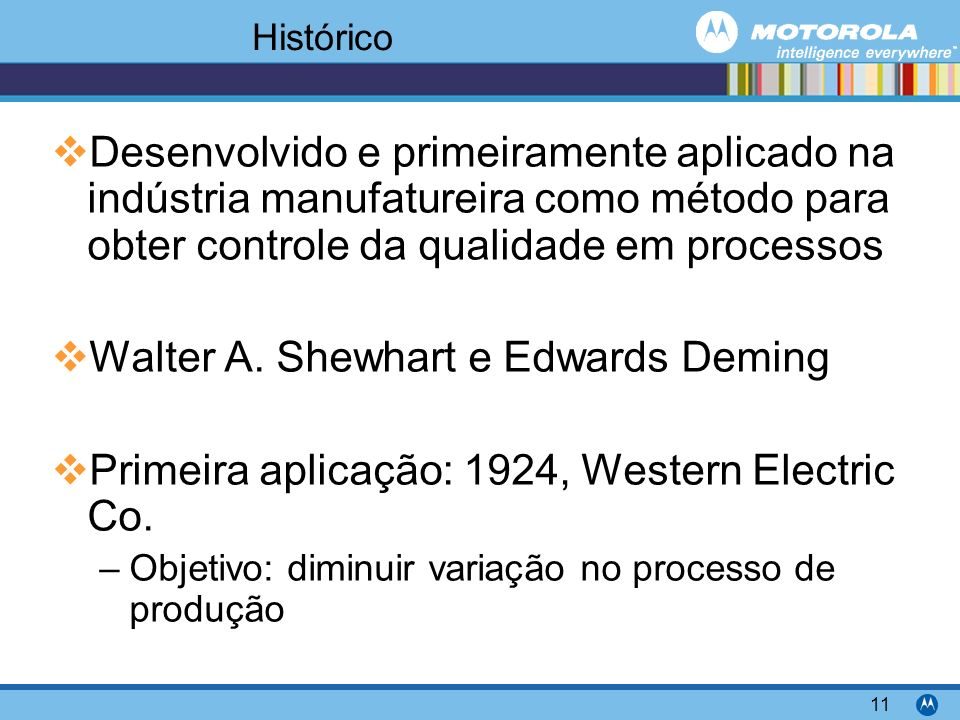Walter A. Shewhart e Edwards Deming