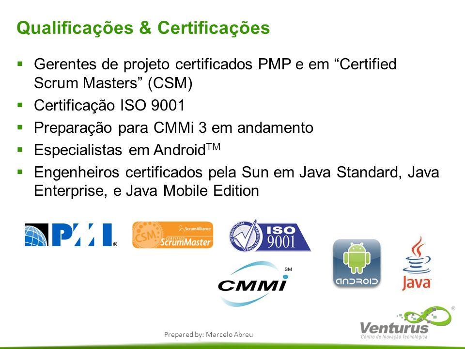 Qualificações & Certificações