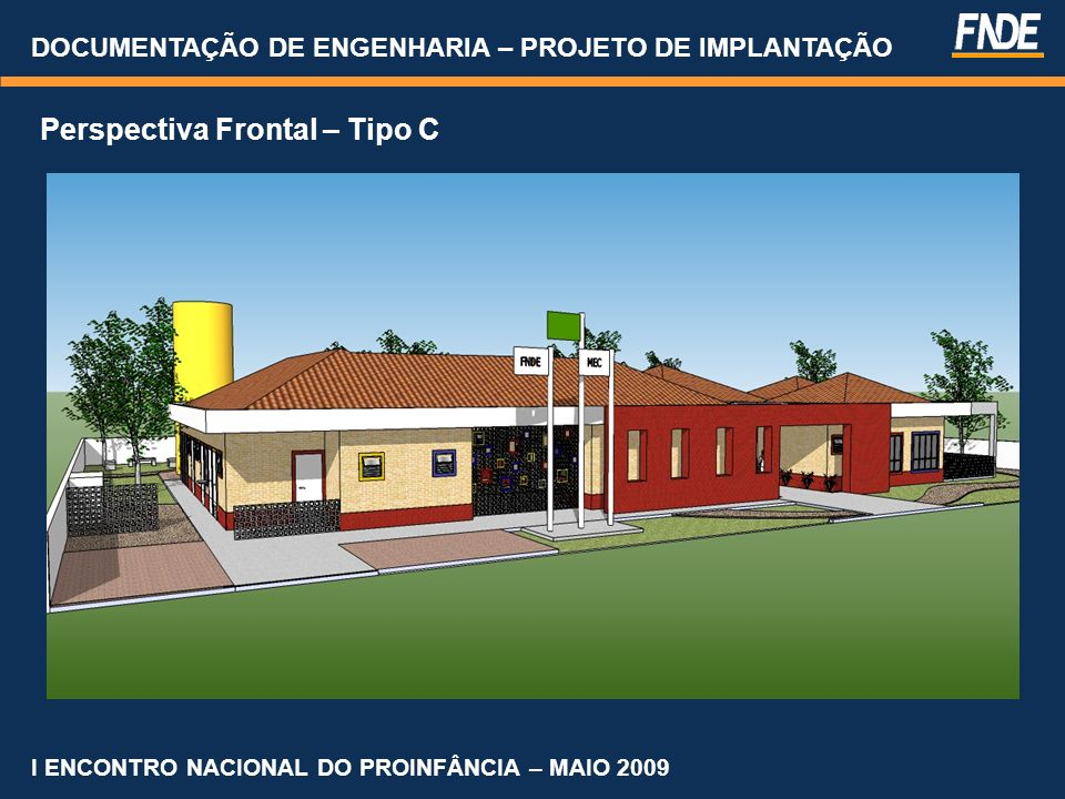 Perspectiva Frontal – Tipo C