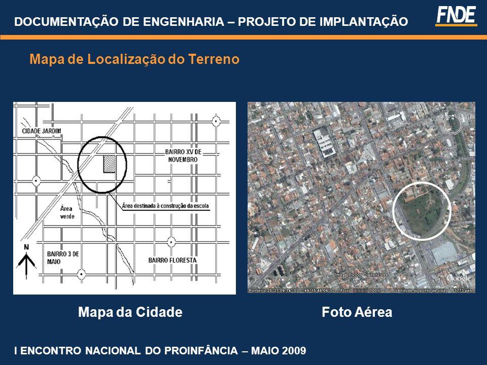 Mapa de Localização do Terreno
