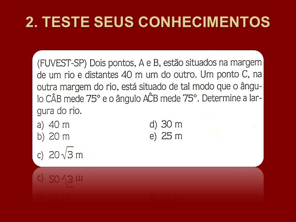 2. TESTE SEUS CONHECIMENTOS