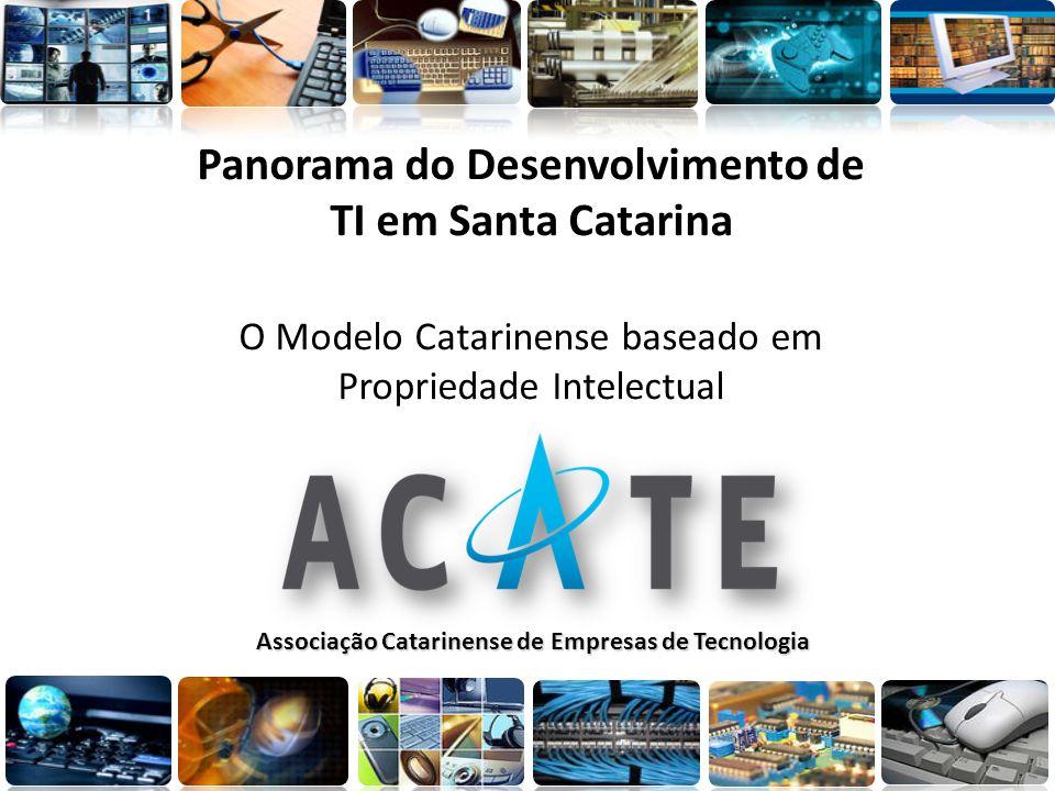 Panorama do Desenvolvimento de TI em Santa Catarina