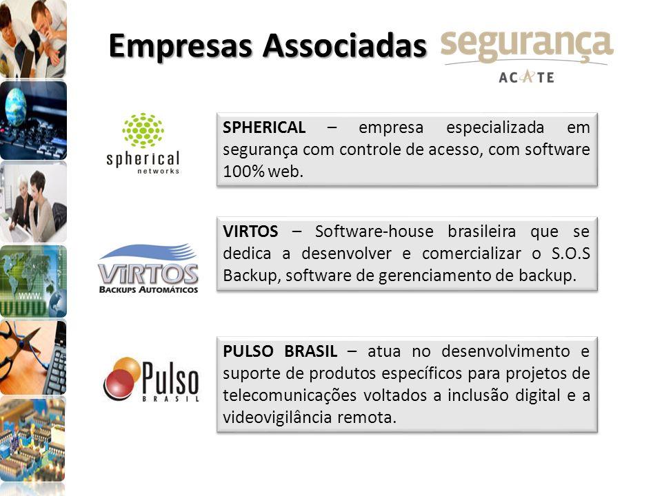 Empresas AssociadasSPHERICAL – empresa especializada em segurança com controle de acesso, com software 100% web.