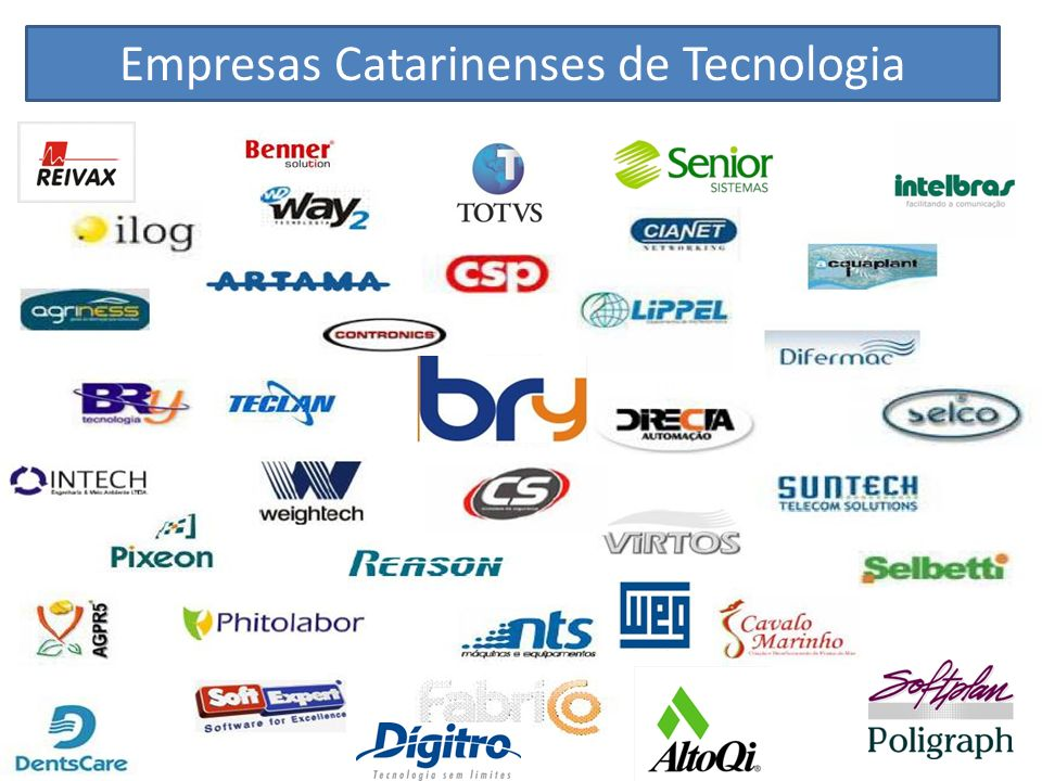 Empresas Catarinenses de Tecnologia