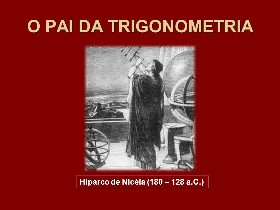 Hiparco de Nicéia (180 – 128 a.C.)