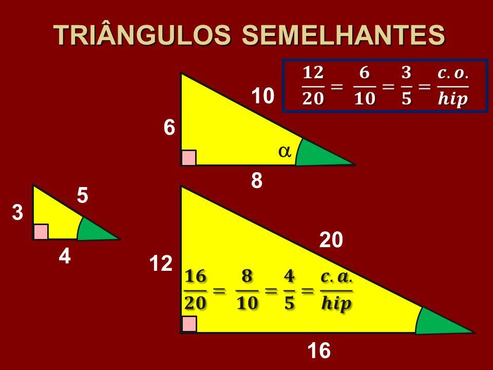 TRIÂNGULOS SEMELHANTES
