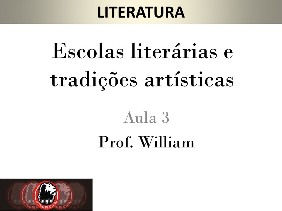 Escolas literárias e tradições artísticas