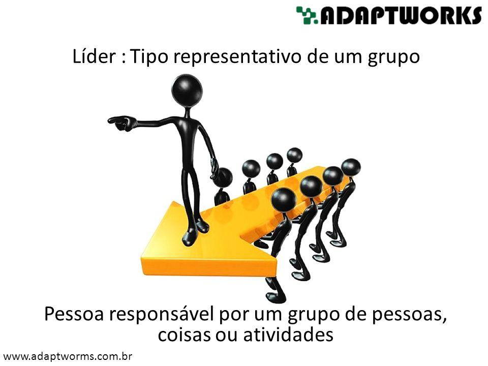 Pessoa responsável por um grupo de pessoas, coisas ou atividades