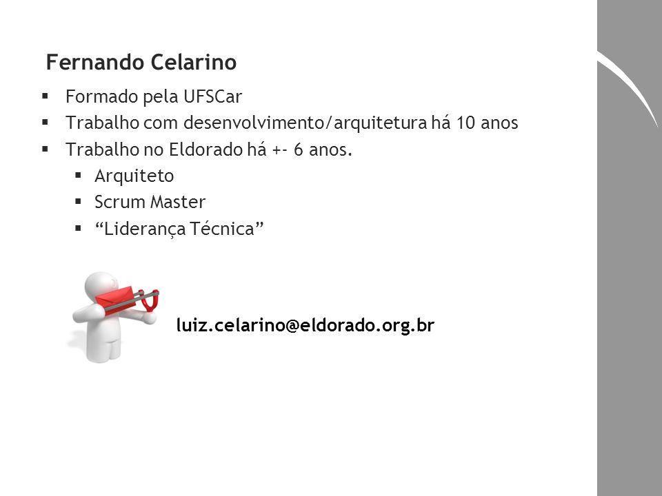 Fernando Celarino Formado pela UFSCar