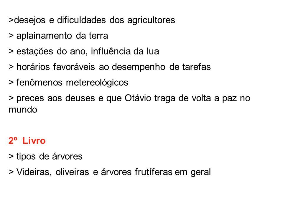 >desejos e dificuldades dos agricultores