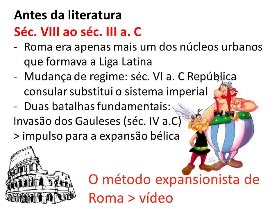 O método expansionista de Roma > vídeo