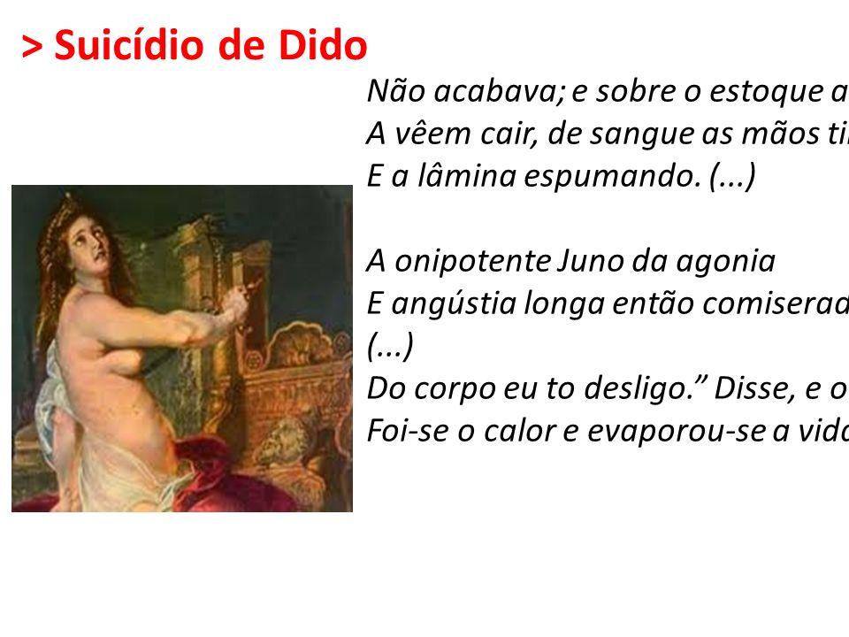 > Suicídio de Dido