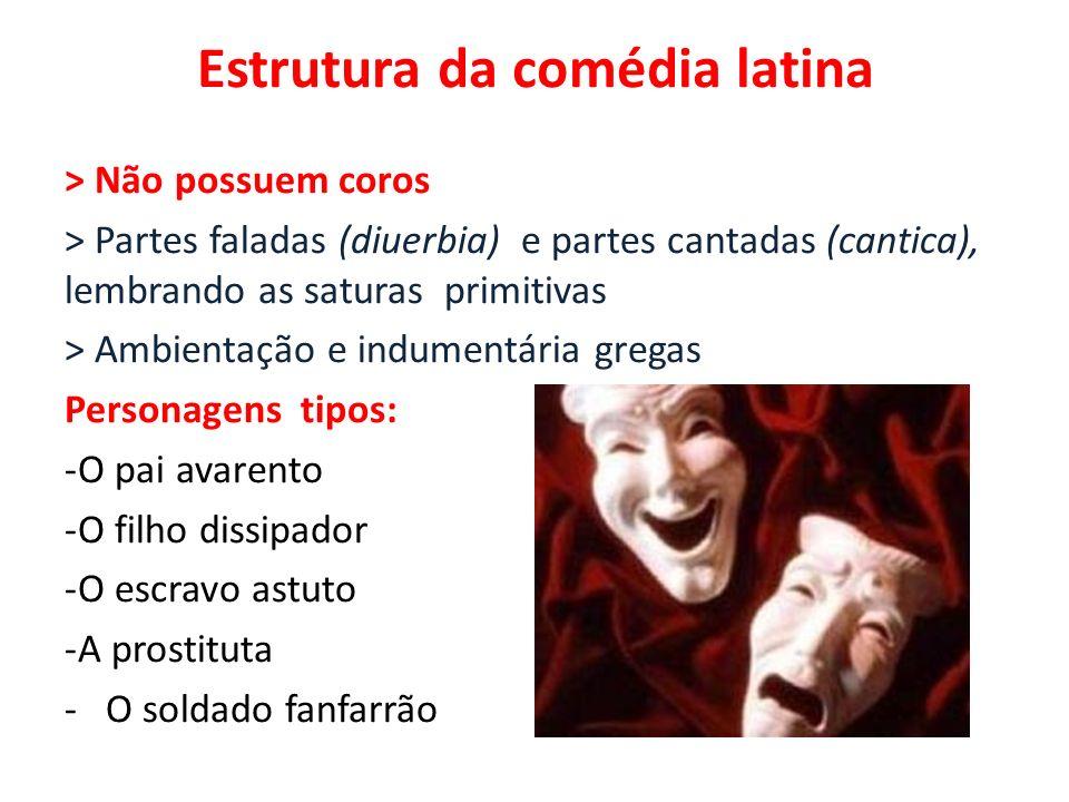 Estrutura da comédia latina