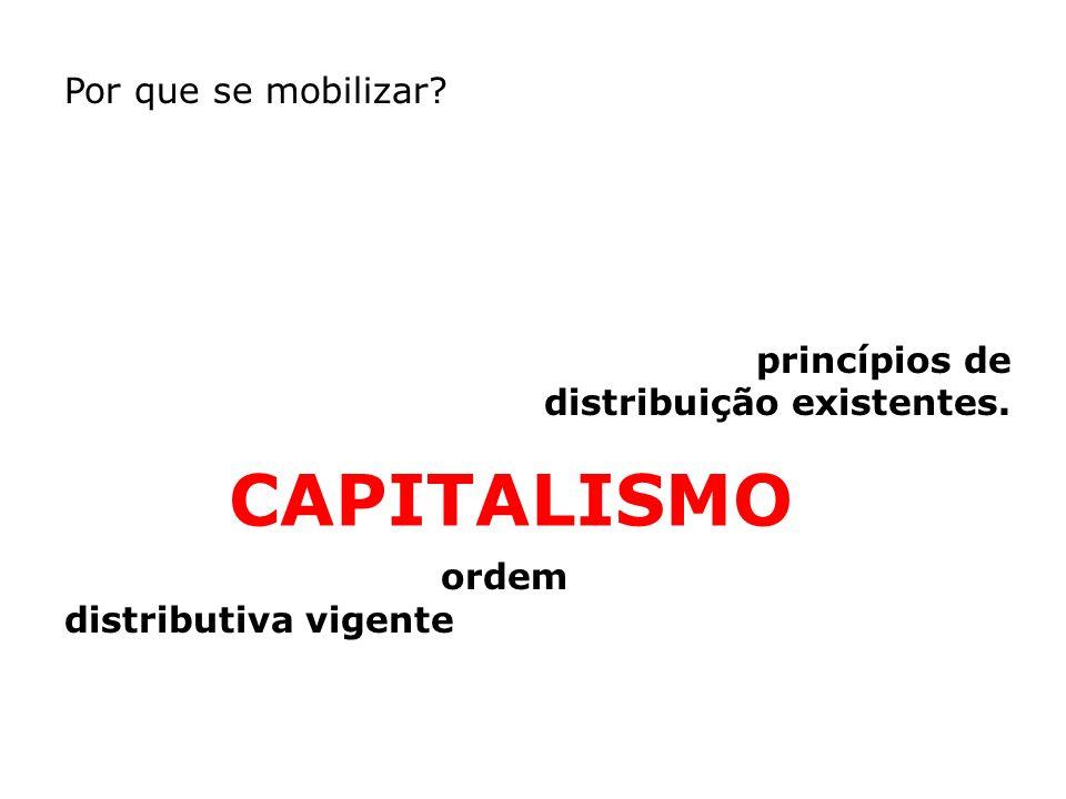 CAPITALISMO Por que se mobilizar