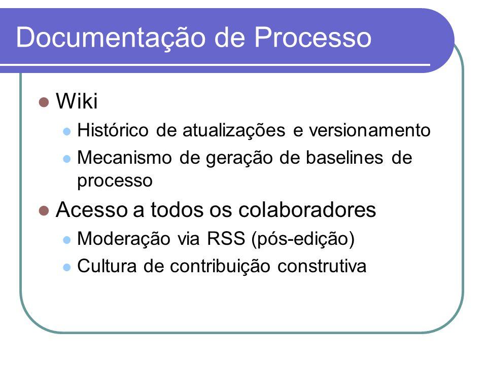 Documentação de Processo