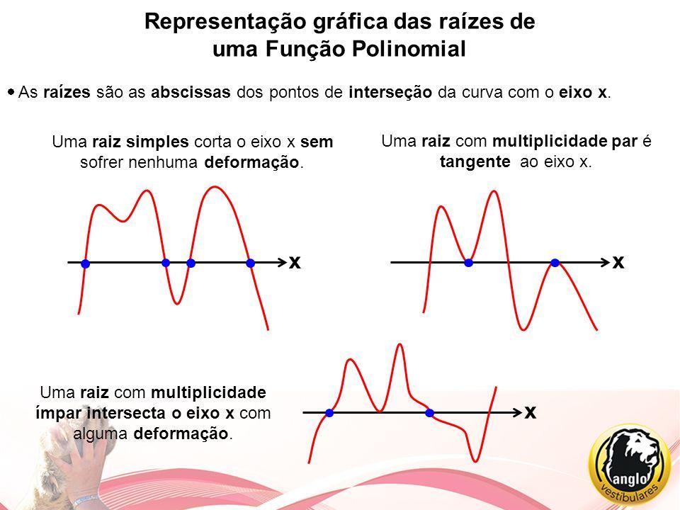 Representação gráfica das raízes de uma Função Polinomial