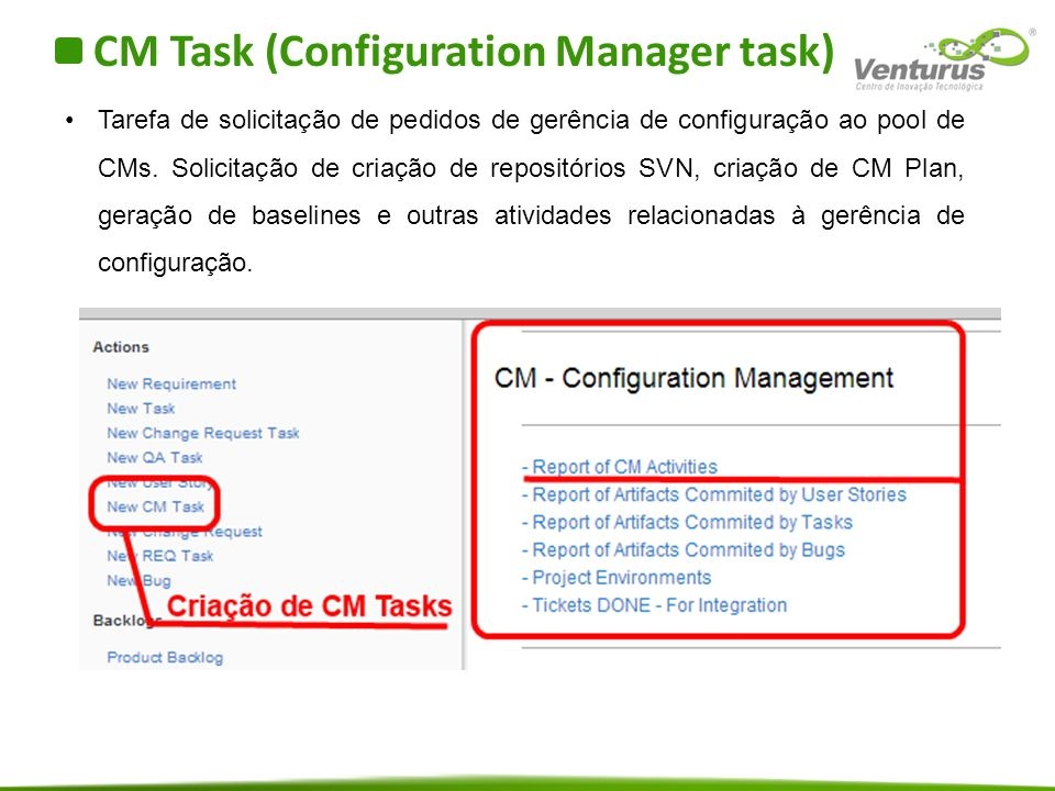 CM Task (Configuration Manager task)
