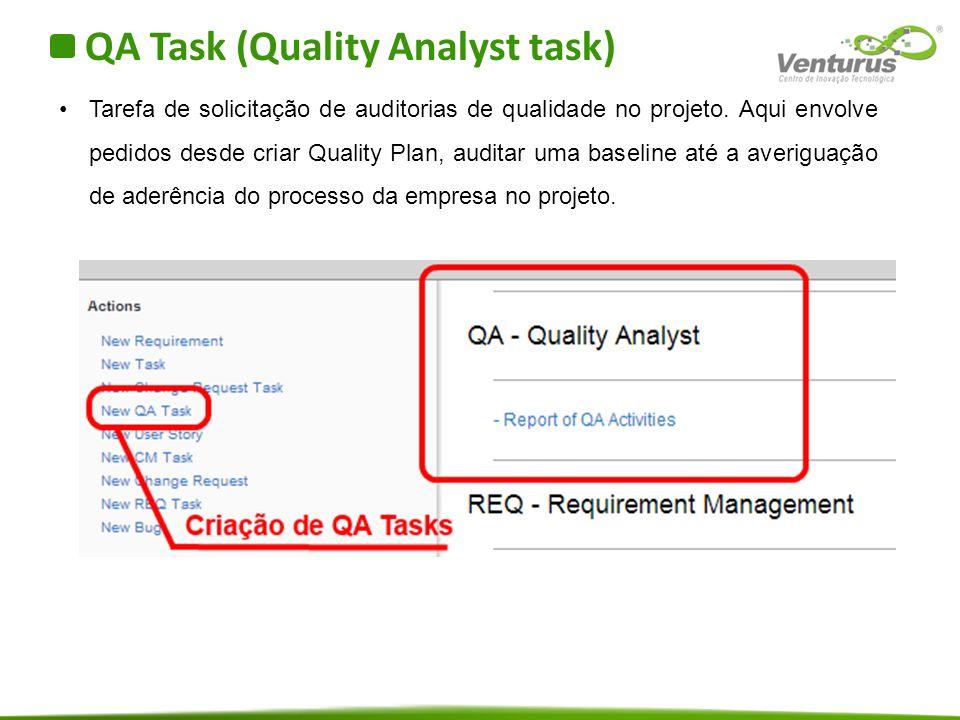 QA Task (Quality Analyst task)