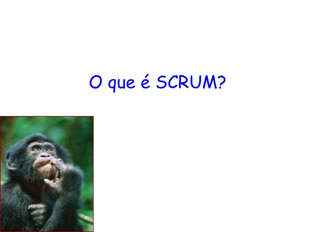 O que é SCRUM.