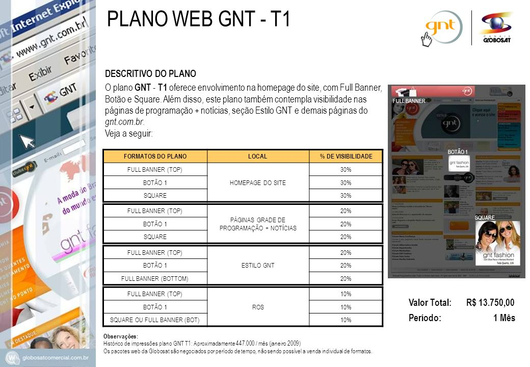 PLANO WEB GNT - T1 DESCRITIVO DO PLANO