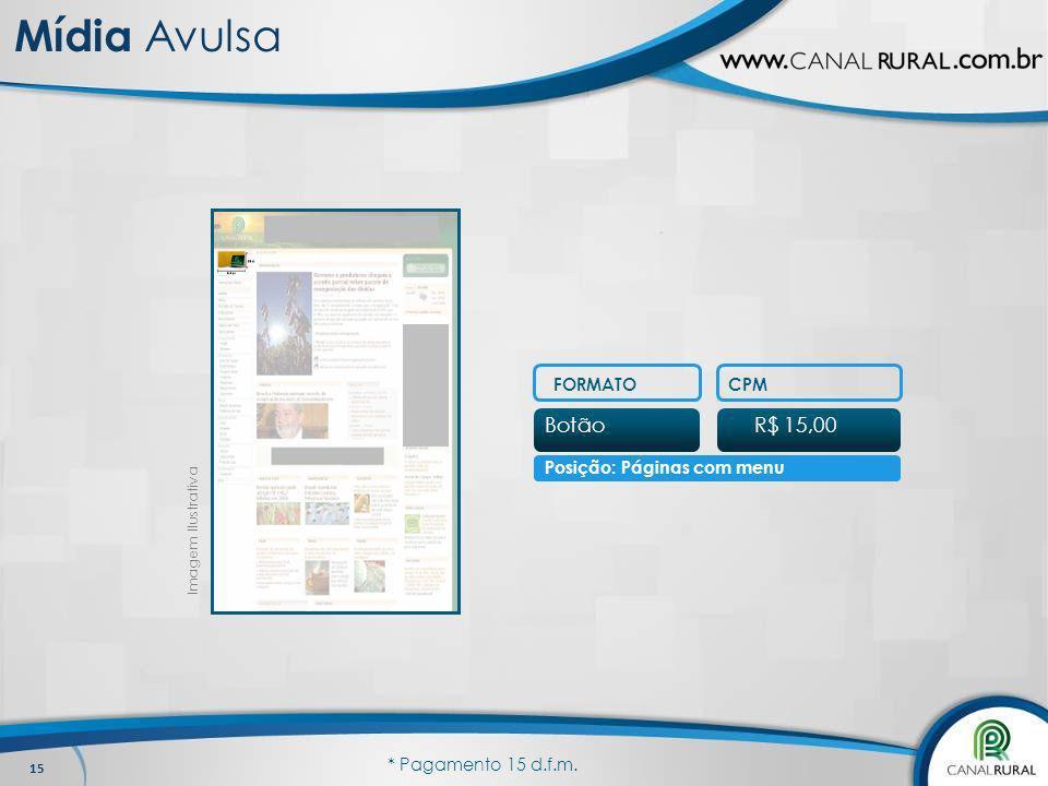 Posição: Páginas com menu