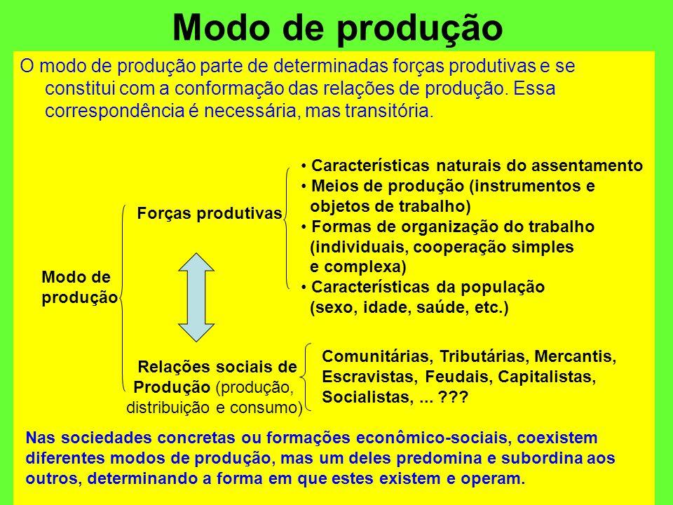 distribuição e consumo)