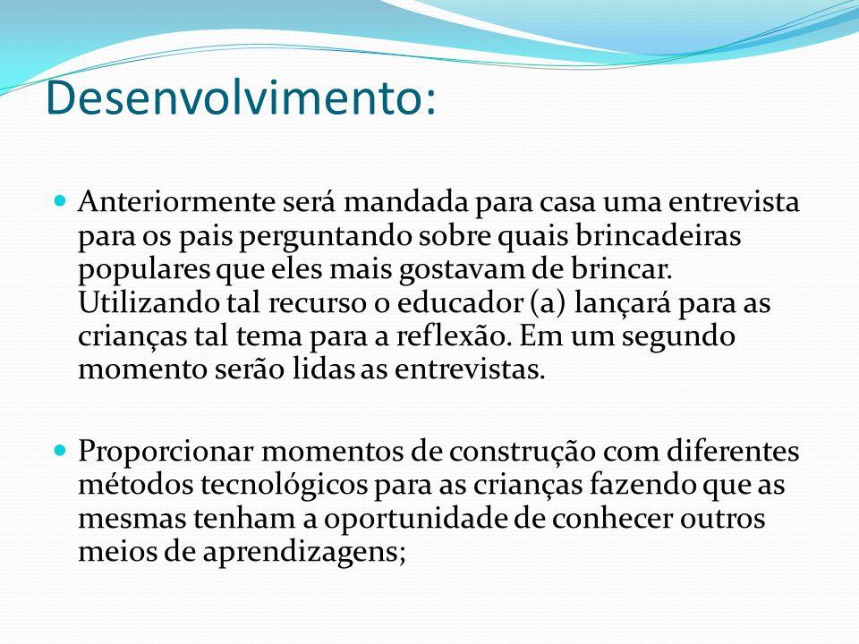 Desenvolvimento: