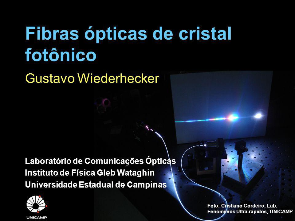 Fibras ópticas de cristal fotônico