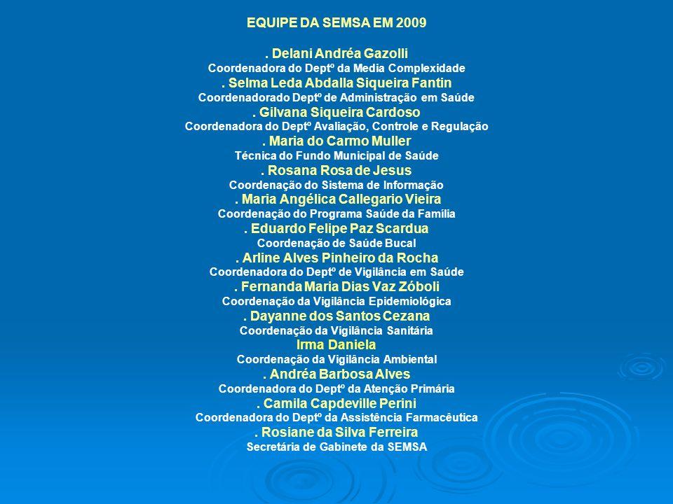 . Selma Leda Abdalla Siqueira Fantin . Gilvana Siqueira Cardoso
