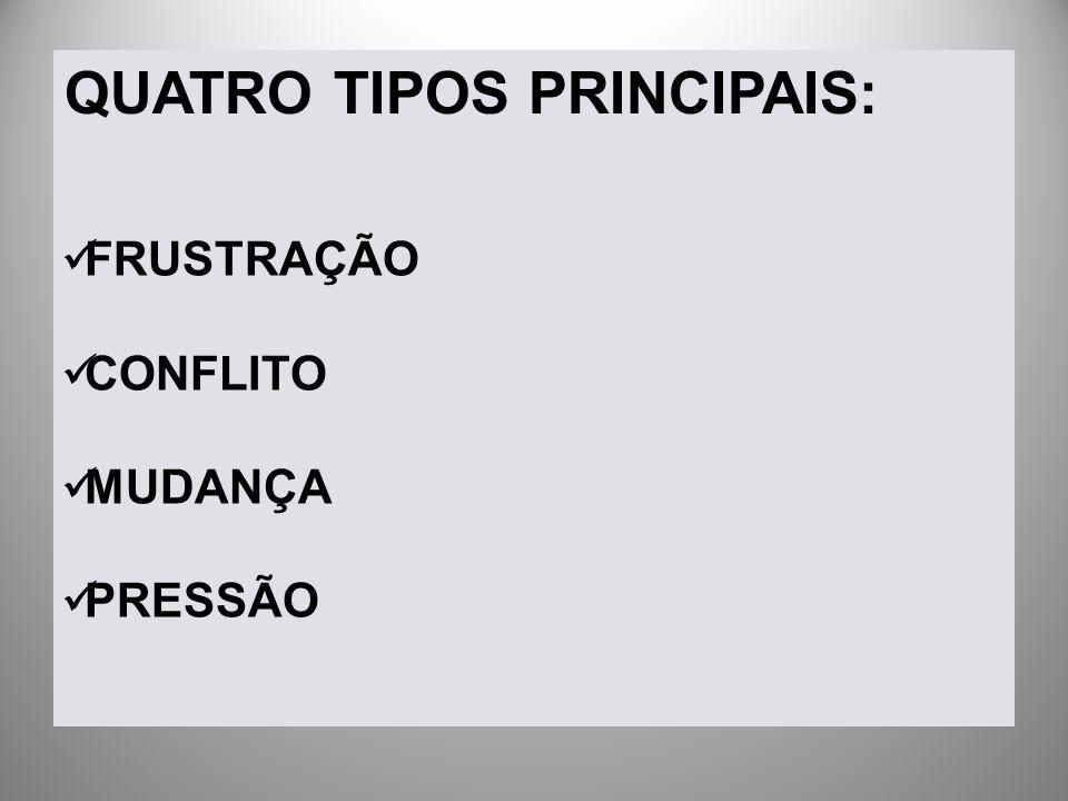 QUATRO TIPOS PRINCIPAIS: