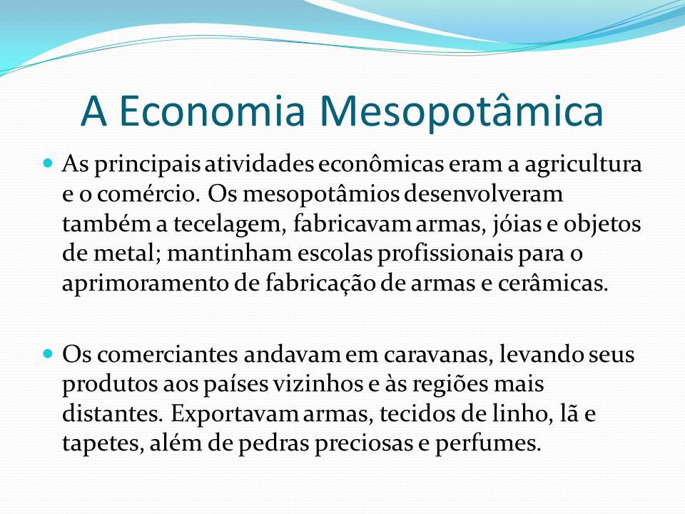 A Economia Mesopotâmica