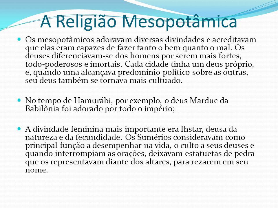 A Religião Mesopotâmica