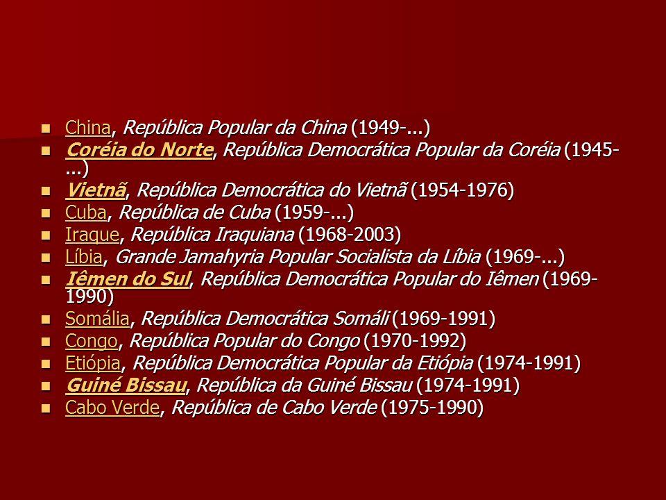 China, República Popular da China (1949-...)
