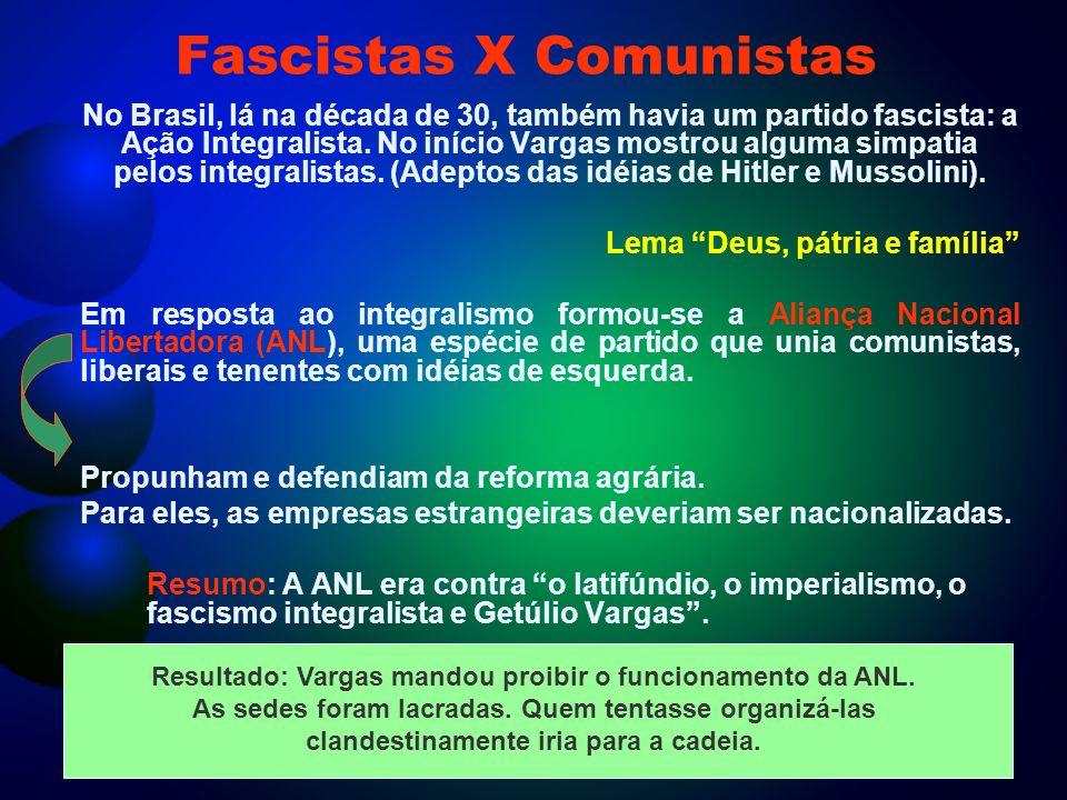 Fascistas X Comunistas