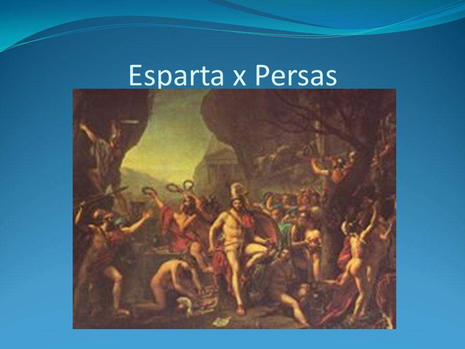 Esparta x Persas