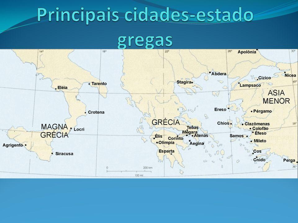 Principais cidades-estado gregas