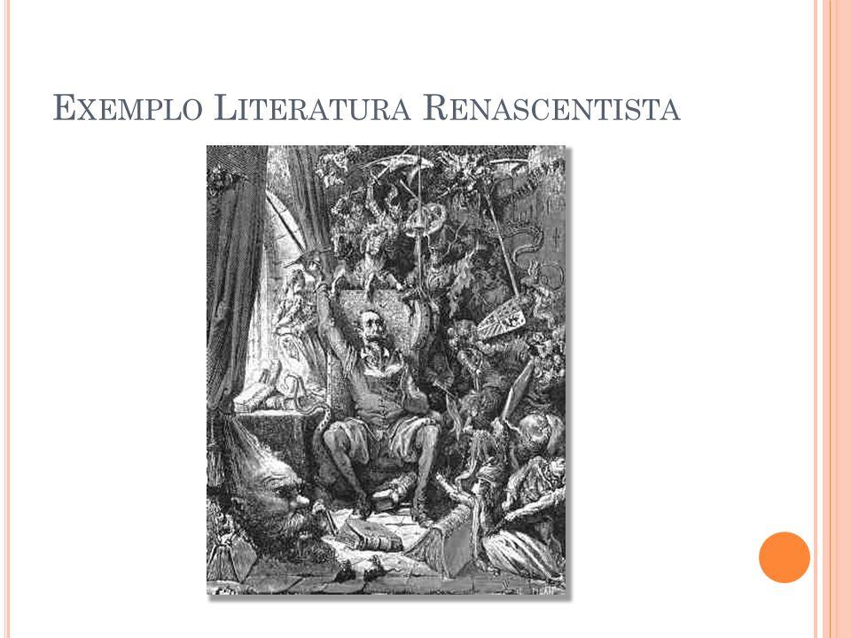 Exemplo Literatura Renascentista