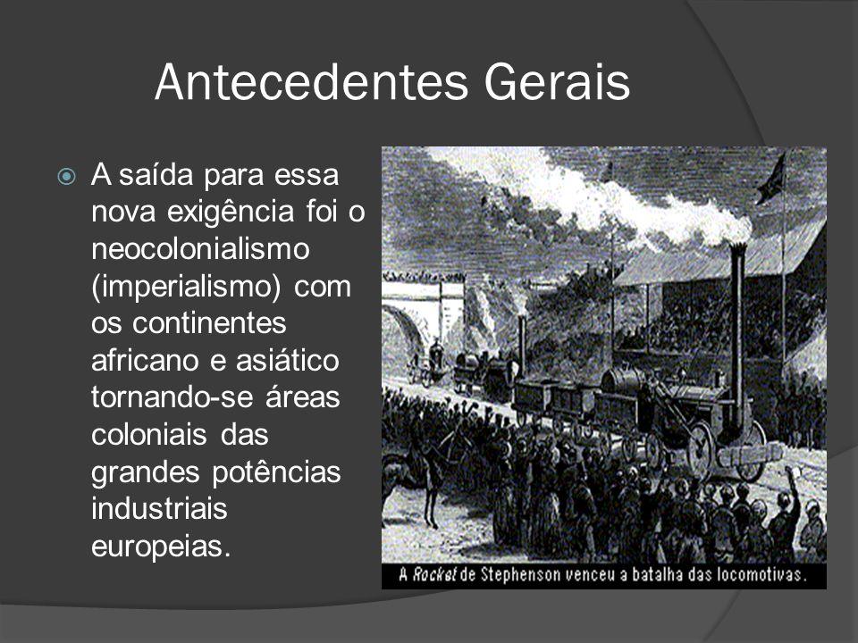 Antecedentes Gerais