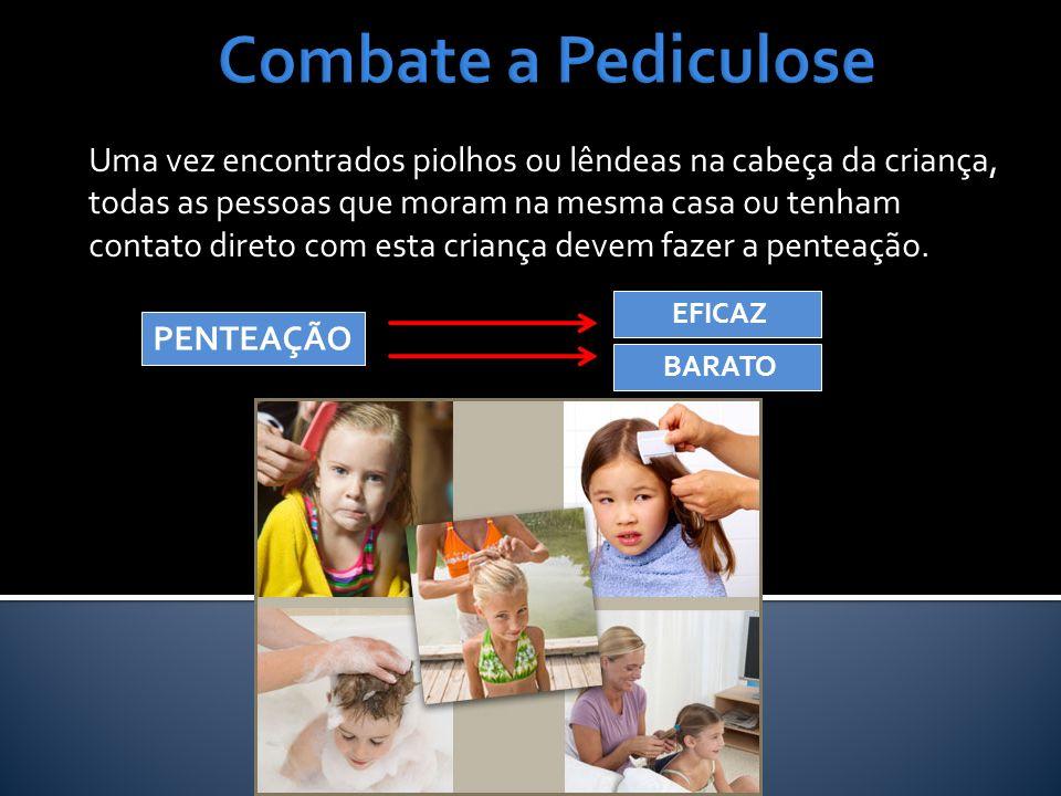 Combate a Pediculose