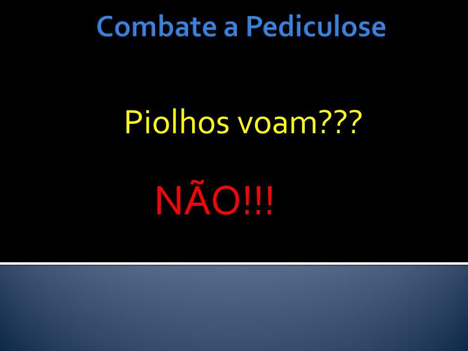 Combate a Pediculose Piolhos voam NÃO!!!